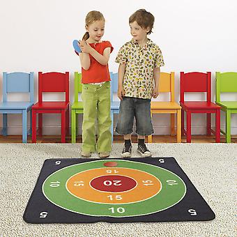 House of Kids 12114, Polyester Multicolored, 100 x 0,5 x 100 cm