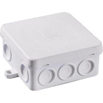 Wiska Wet-room junction boxes KA 14 Humid room cable junction boxes Grey (RAL 7035) IP54