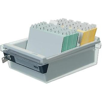 Han 967-S-631 A7 Lockable Index Card Box
