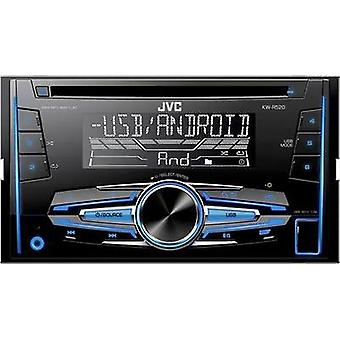 Double DIN car stereo JVC KW-R520