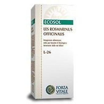 Forza Vitale Rosmarinus officinalis Rosemary Les 50Ml. (Herbalist's , Natural extracts)