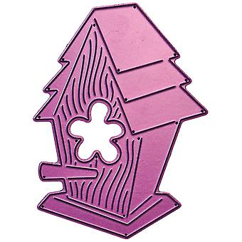 Cheery Lynn Designs Whimsical Die-Birdhouse, 2.875