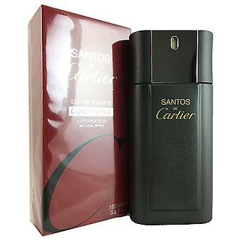 Santos de Cartier Concentre for Men 3.3 oz EDT Spray