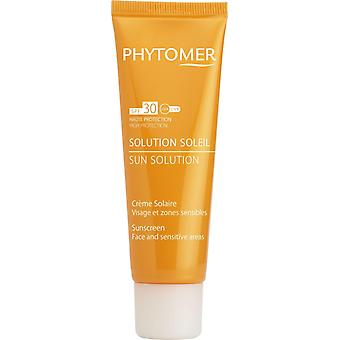 Phytomer Protective Sunscreen For Face & Sensitive Areas SPF30