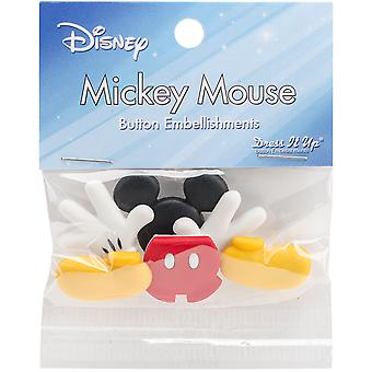 Dress It Up Licensed Embellishments-Disney Everything Mickey DIULBTN-7720