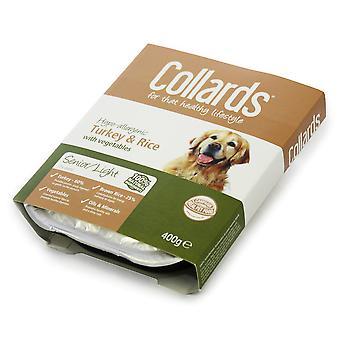 Collards Senior Tyrkiet ris & Veg 400g (pakke med 10)