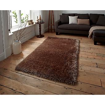Soft Beige Shaggy Rug Seattle