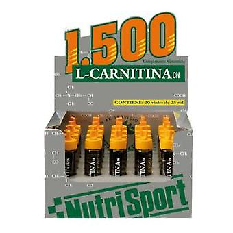 Nutrisport L Carnitin 1500 Strawberry 20Amp (Sport , Sonstiges)