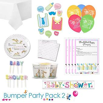 Guess How Much I Love You Baby Shower Party Tableware Bumper Pack 2