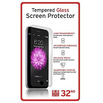 Extra gehärtetes Glas für Samsung Galaxy S7 Rand SM-G935 gebogenen Glas - klar