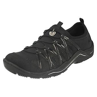 Ladies Rieker Casual Trainer Style Shoes L0564
