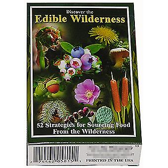 Discover The Edible Wilderness set of 52 playing cards + jokers    (gib)