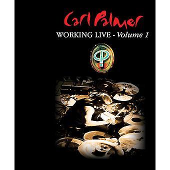 Carl Palmer - importación de Estados Unidos trabajando en vivo volumen 1 [CD]