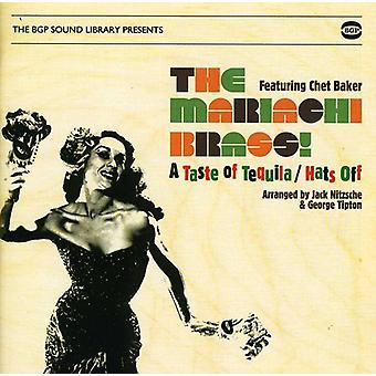 Mariachi Brass/Chet Baker - Taste of Tequila/Hats Off [CD] USA import