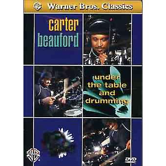 Under tabel & Drumming [DVD] USA importen