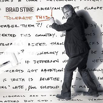 Brad Stine - Tolerate This [CD] USA import