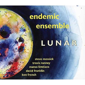 Endemiske Ensemble - Lunar [CD] USA importerer