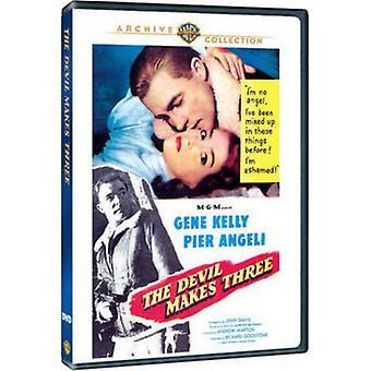 Teufel macht drei (1952) [DVD] USA importieren