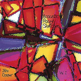 John Cooper - John Cooper: Vol. que bocetos 1-acústico [CD] USA importar