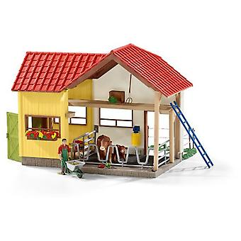 Schleich Barn With Animals And Accessories