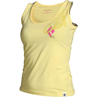 Black Diamond Women's Curl Tank Top - Yellow Cream
