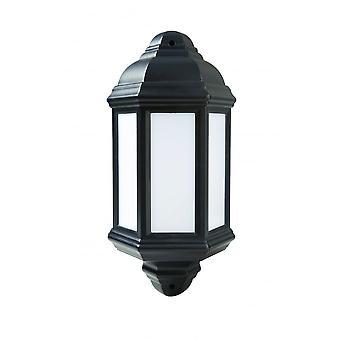 LED Robus Kerry 7W LED Half Coach Light, Black