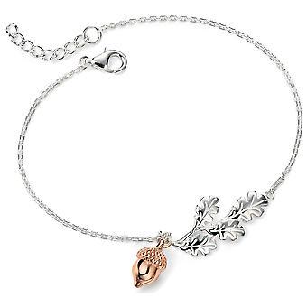925 Silver Gold Plated Bracelet Hazel