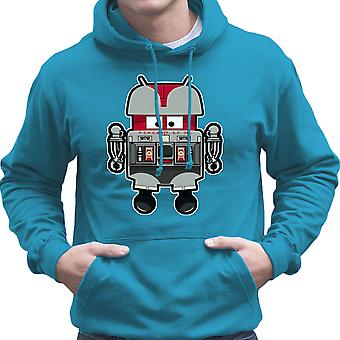 V.I.N.CENT L.F 396 Droid The Black Hole Android Men's Hooded Sweatshirt