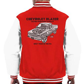 Haynes Owners Workshop Manual Chevrolet Blazer Black mannen Varsity Jacket