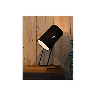 Lucide BOST Cylinder Drum Table Lamp