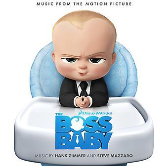 Zimmer, Hans / Mazzaro, Steve - Boss Baby (originale Soundtrack) [CD] USA importerer