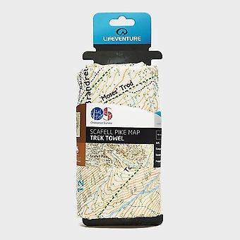 Lifeventure Giant Towel (Scafell OS Map Print)