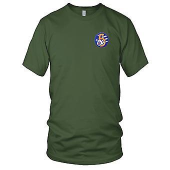 USAF Airforce - 5th Air Force skulder broderet Patch - Herre T-shirt