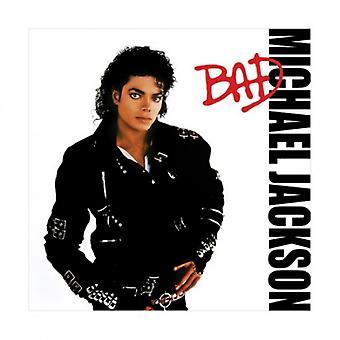 Michael Jackson Bad Poster drucken (16 x 16)