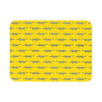 Scion Mr Fox Yellow Worktop Saver