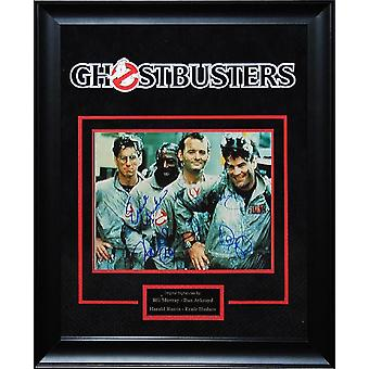 Ghostbusters - Signed by Movie Cast - Framed Artist Series