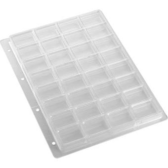 Punched pockets (L x W x H) 305 x 231 x 16.8 mm Weltron 902120 No. of compartments: 10 fixed compartments