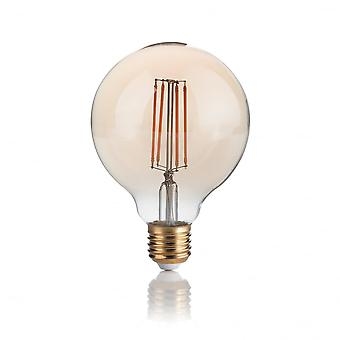 Ideal Lux Lampadina Vintage E27 4W Globo Small