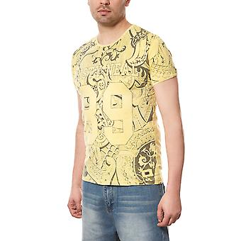 RUSTY NEAL T-Shirt men's fancy yellow