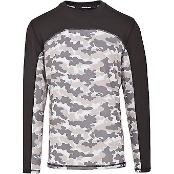 Strato di Base di Trespass Mens trapano Wicking Quickdry Long Sleeve Top