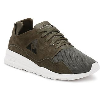 Le Coq Sportif Mens Olive Night Mono Luxe LCS R Trainers