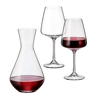 The Perfect Wine Set Carafe and Glasses