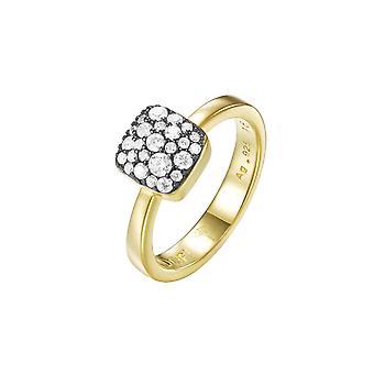 Joop kvinnors ring rostfritt stål guld M bana PRG90798E1