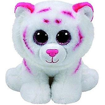Beanie Babies pink-white tiger plush toy 15 cm