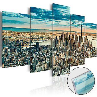 Akryl Print - NY: Dream City [glas]
