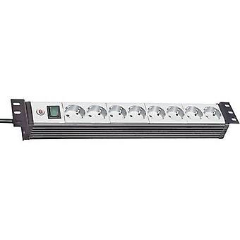 Brennenstuhl 1156057018 19 socket strip 8x Grey, Black PG connector