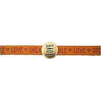Ladies - bracelet - love - Brown - magnetic lock - WISHES-
