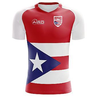 2018 - 2019 Puerto Rico Wohnkonzept Fußballtrikot