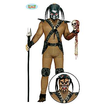 Alien warrior space fighter costume Mr costume one size