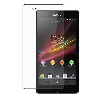 Sony Xperia Z Tempered Glass Screen Protection Display Shield